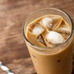 High protein vanille ijskoffie