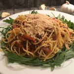knoflook spaghetti
