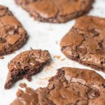 Chocolate chip brownie koekjes!