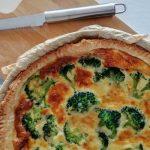 Vegetarische hartige taart a la broccoli
