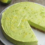De frisse Limoen Avocado Cheesecake